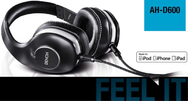 Denon Headphones - ADH-D600